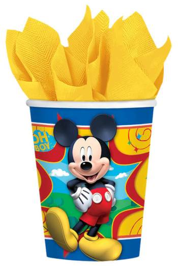 Mickey Mouse 9oz Cups - 8PC-0