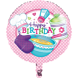 "Little Chef Metallic Foil Balloon 18""-0"