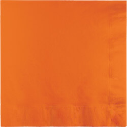 Sunkissed Orange Lunch Napkins - 50PC-0