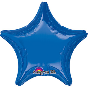 "Dark Blue Star 18""-0"