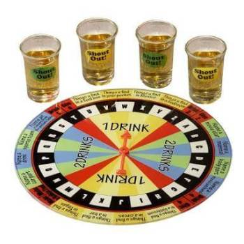 Drinking Roulette Board Game-0