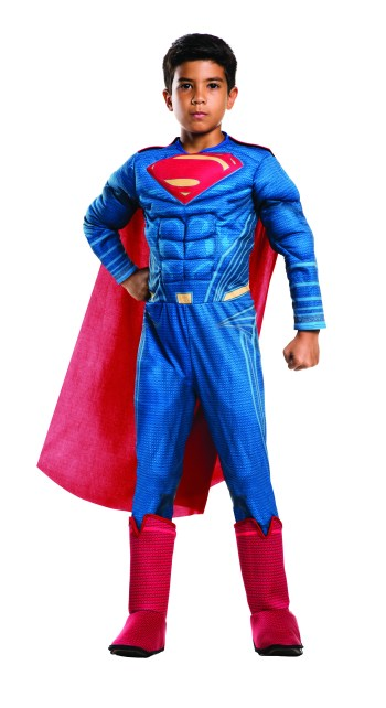 Deluxe Muscle Chest Kids Superman Costume-0
