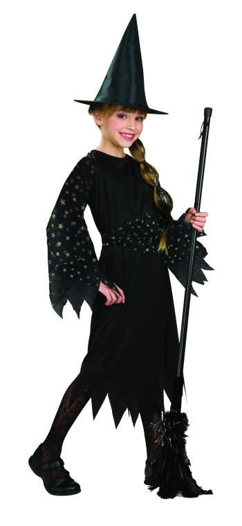 Kids Witch Costume-0