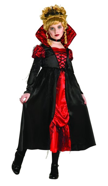 Kids Vampiress Costume-0