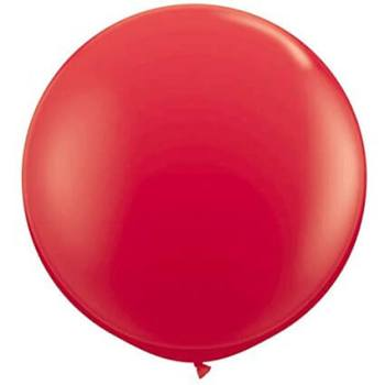 "Red Bladder Balloon 36"" - 1PC-0"