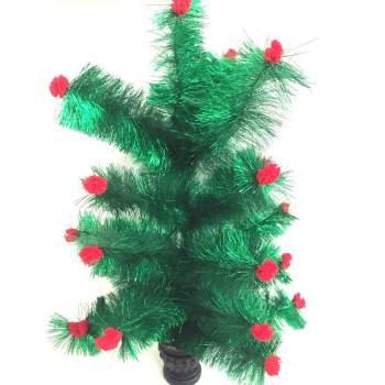 Small Christmas Tinsel Tree 1FT -0