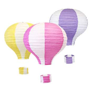 Hot Air Balloon Lanterns - Set of 3-0