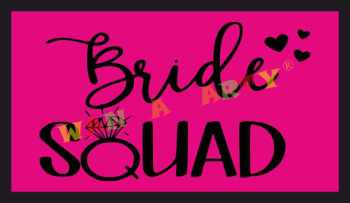 Bride Squad Photo Prop-0