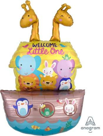 "Baby Shower Noah's Ark Balloons 43"" P60-0"
