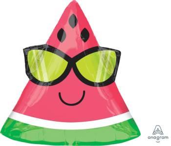 "18"" Fun In The Sun Watermelon Balloons S50-0"