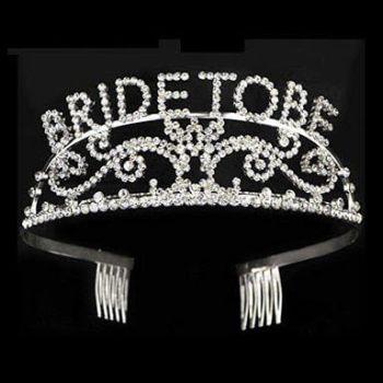 Bride To Be Metal Tiara-0