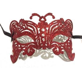 Glitter Butterfly Mask - 1PC-0