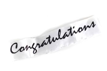 Congratulations Sash-0
