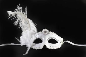 White Flower Mask-0