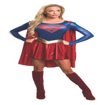 Adult Supergirl Costume Medium-0