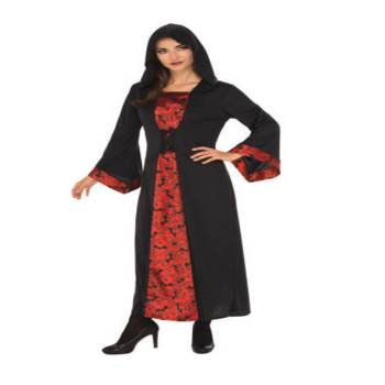Adult Gothic Woman Costumes-0