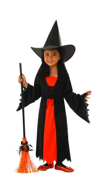 Kids Witch Costume Medium-0