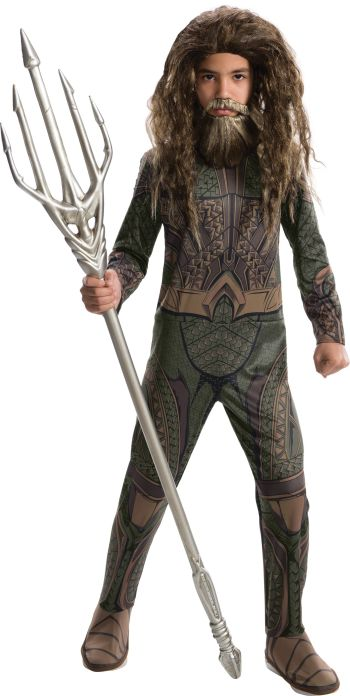 Kids Aquaman Costume Medium-0