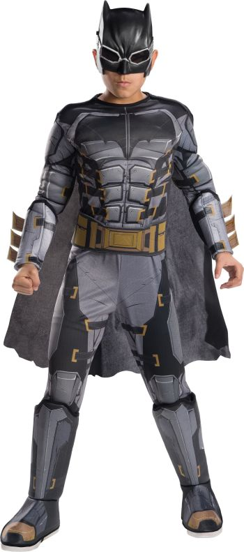 Kids Deluxe Tactical Batman Costume Medium-0