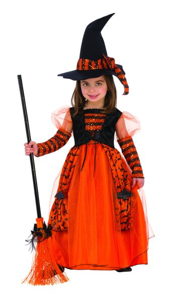 Kids Sparkle Witch Costume Medium-0