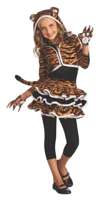 Kids Tigress Costume-0