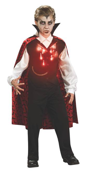 Light-Up Kids Vampire Costume-0