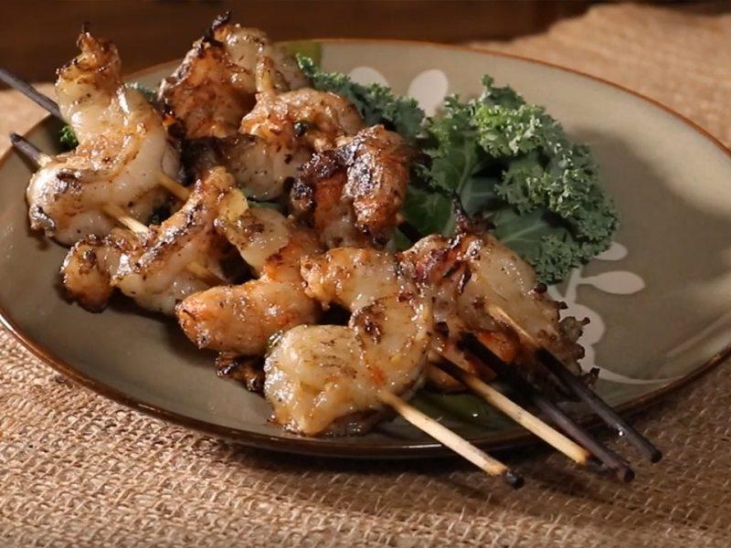 WannaRub Jalapeno Garlic Shrimp