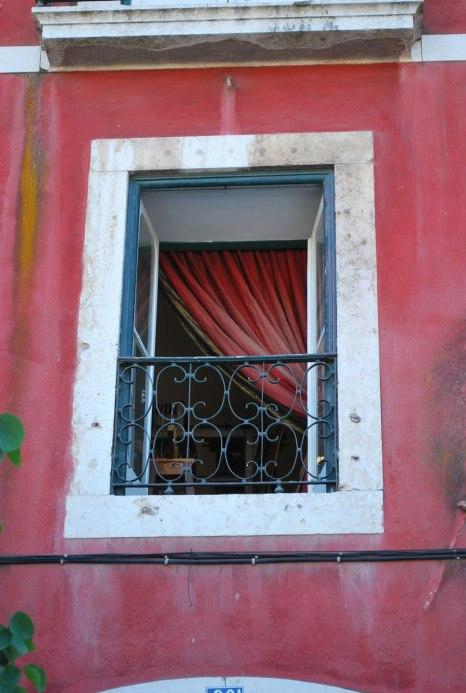 pittoreske huizen in de Castello en Alfama wijk