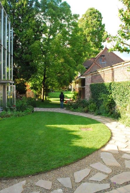 De rustgevende tuin