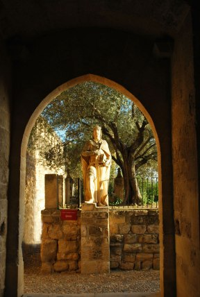 ingang van het Alcazar