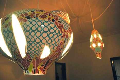 lampen als sculpturen, van Jorge Pardo