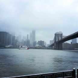 Manhattan in de wolken - en wij ook!
