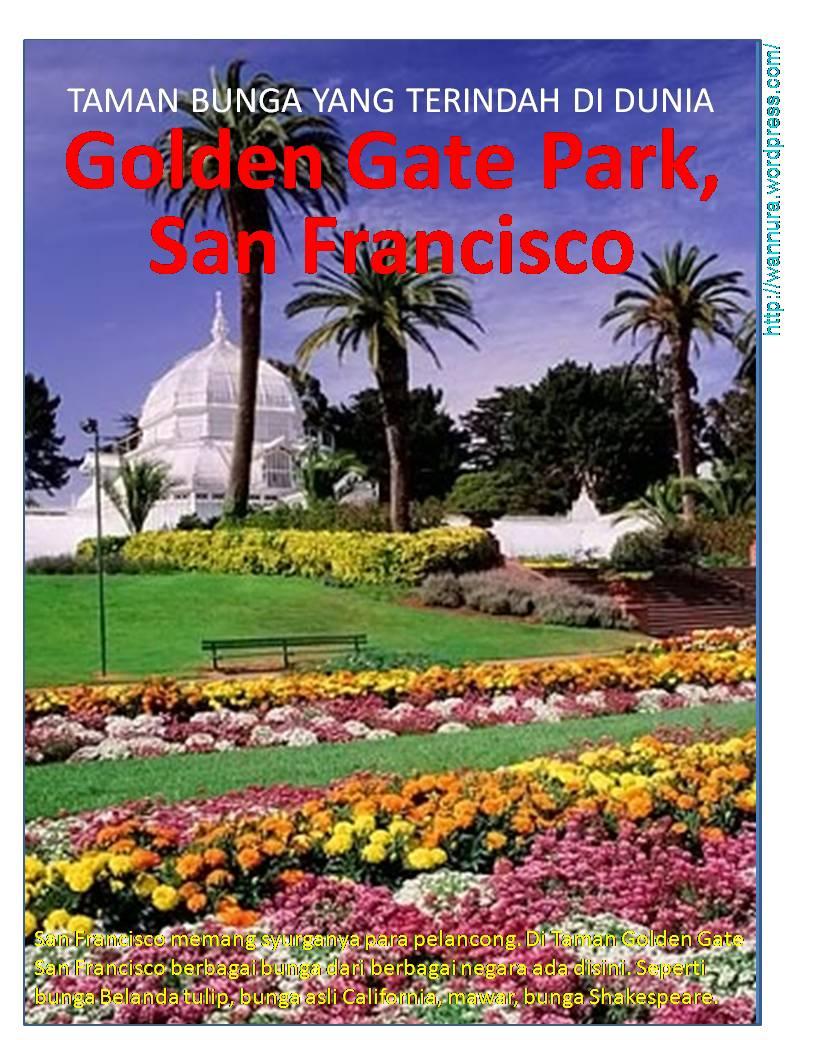 Taman Terindah Di Dunia : taman, terindah, dunia, TAMAN, BUNGA, TERINDAH, DUNIA, Golden, Park,, Francisco, Wannura