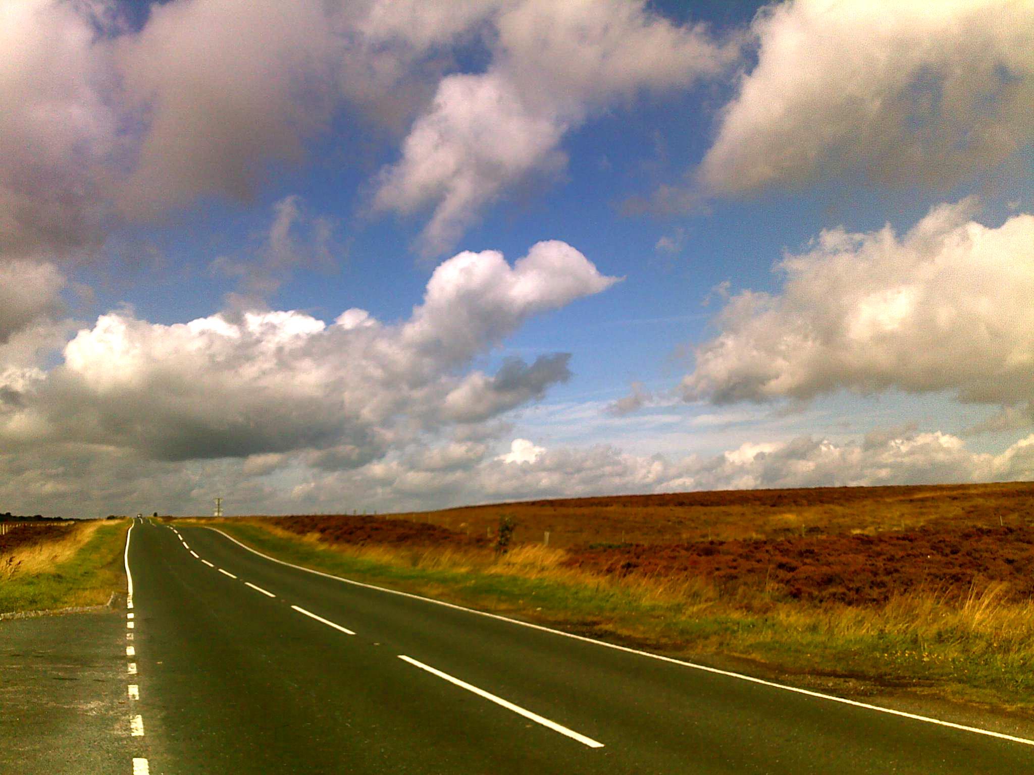 Yorkshire road