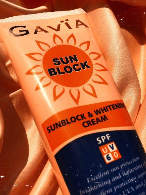 Gavia sunblock