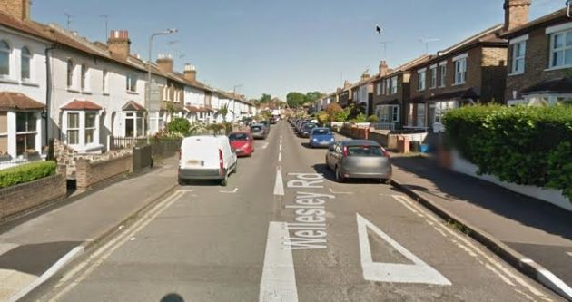 Treeless Wellesley Road. (Picture Google Streetview)