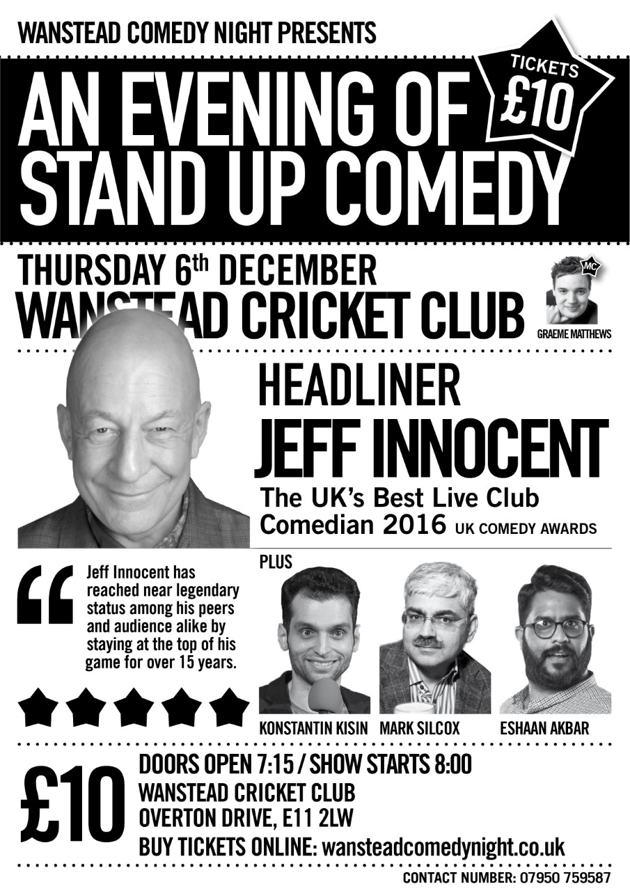 Wanstead Comedy Night