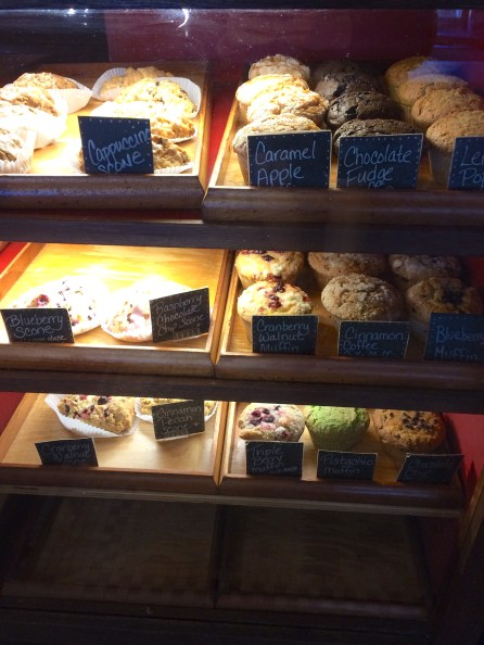 Some of the tasty treats on display