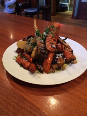 Grilled Carrots & Parsnips