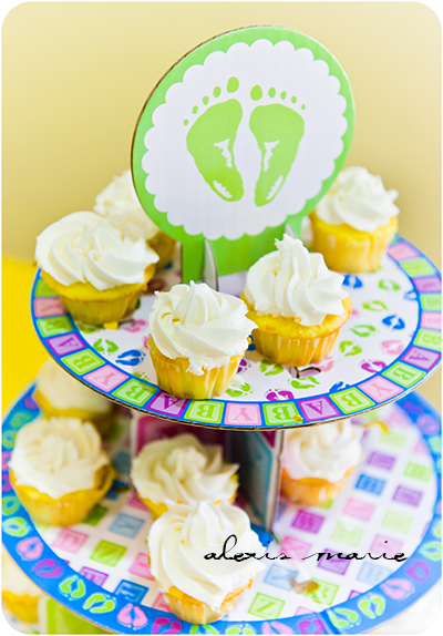 Cupcakes made by Suzy Potts of Suzy's Sweets.  Photograph copyright Alexis Marie Chute