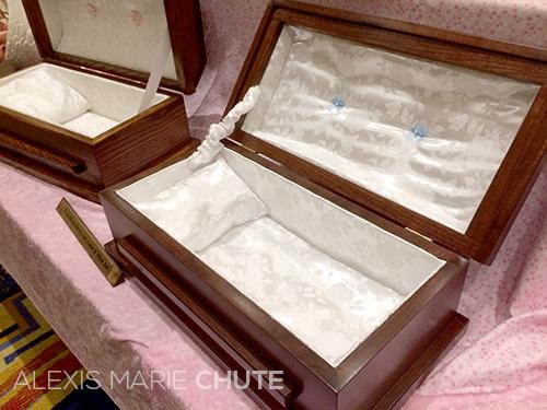 baby loss casket wanted chosen planned alexis marie chute artist writer photographer