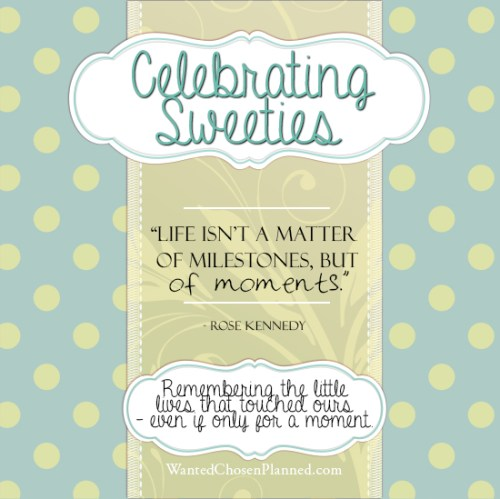 Celebrating Sweeties Wanted Chosen Planned Alexis Marie Chute BLOG
