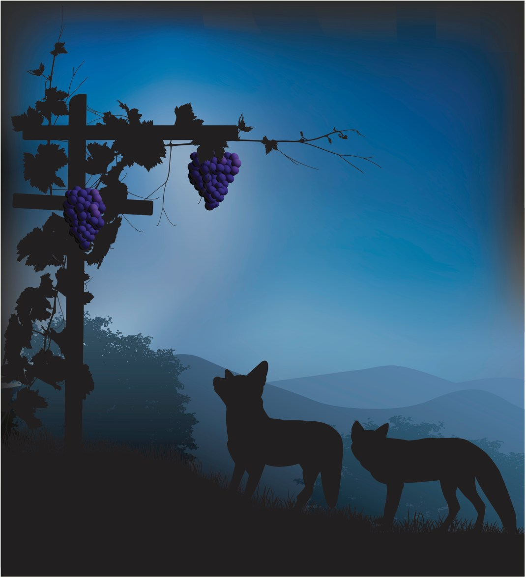 Foxes and grapes