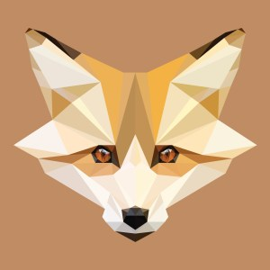 Low Poly Fox Head