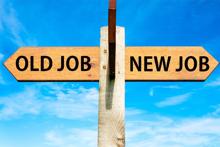 古い仕事と新しい仕事