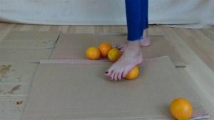 Megan Barefoot Orange Crush