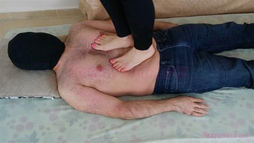 Emma's Barefoot Trampling