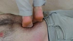 Zelda's Barefoot Tiptoes Trampling