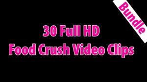 30 Full HD Food Crushing Videos