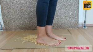 Barbara's Barefoot Biscuit Crushing
